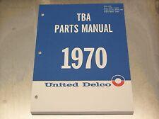 69 70 AC United Delco TBA Parts Catalog - NOV 69 print
