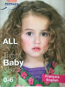 Adriafil Childrens Knitting Pattern Booklet 0-6 Years (20 Patterns)