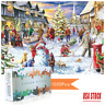 Christmas Snowy Home Large Jigsaw Puzzle Game Toys-1000 Piece Jigsaw Puzzle