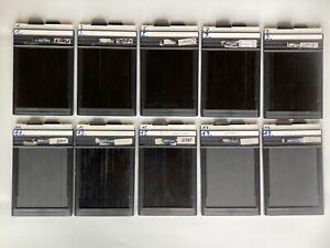 4 x 5 inch dark slides (15 available)