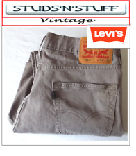 "VINTAGE LEVIS 514'S  SLIM STRAIGHT JEANS W 34"" L 26"" APROX SIZE UK 14 (T145)"