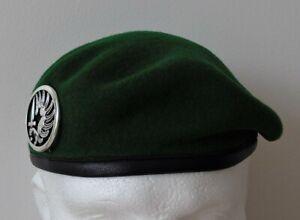 French Foreign Legion Parachute Regiment 2 REP Beret & Beret Badge - New