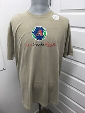"MAJESTIC ""IT'S A D-BACKS WORLD"" BEIGE 100% COTTON XL T-SHIRT NEW WITH TAGS"