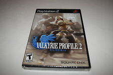 Valkyrie Profile 2 Silmeria Sony Playstation 2 PS2 Video Game New Sealed