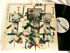 JOHN LEWIS & ALBERT MANGELSDORFF Animal Dance Atlantic mono LP