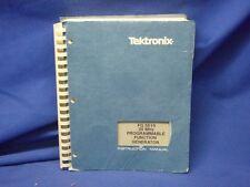 Tektronix Fg 5010 Function Generator Instruction Manual