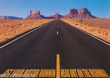 POSTER : GET YOUR MOTOR RUNNING - HEAD ON OUT - FREE SHIPPING !  #PP0199  RW19 O