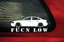 Fukn Low car sticker - for VW Passat B5 sedan,1.8t,20vt,v5