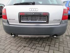 Stoßstange hinten Audi A6 4B Allroad Stoßfänger grau UNLACKIERT Diffusor