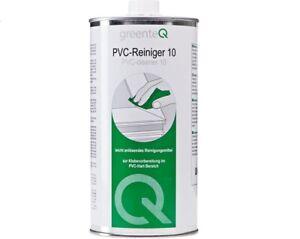 1 Liter greenteQ PVC Reiniger 10 Kunststoffreiniger Fenster Türen