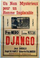 Plakat Kino Western Django - Franco Nero - 80 X 120 CM