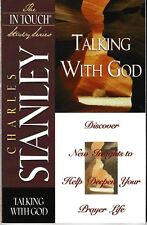 Talking With God- In Touch Study Series 1997 VG PB - Charles Stanley Bible Study