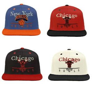 adidas NBA Men's A-Line Adjustable Snapback Hat - Choose Team