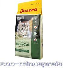 Josera NATUR CAT 10 kg, Für empfindliche Katzen ohne Getreide