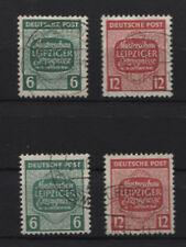 SBZ 124-125 X+Y gestempelt (B02894)