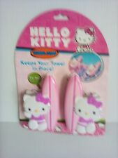Towel Clips Hello Kitty Set of 2 Clips New