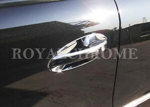 DELUXE CHROME Door Handle Cups for Mercedes Benz W164 ML Class AMG ML63 ML350