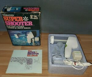 WEAREVER SUPER SHOOTER ELECTRIC COOKIE PRESS GUN 70001 WORKS PERFECT!