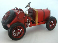 Piatto in stagno modello di un trasporto Vintage Rosso Tempo Libero Auto/ornamento/Regalo