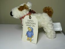 BABY Ollie White Terrier Dog Toy Soft Plush NABCo 2002 North American Bear 3556
