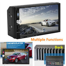 HD 7''Touch Screen 2Din Car MP3 MP5  FM AUX Player Bluetooth Stereo Radio USB TF