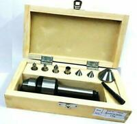 High Precision 2MT Shank Multiple Point Revolving Center with Interchangeable