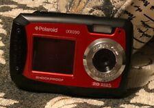 Polaroid iXX090 Dual Screen Shock & Waterproof Digital Camera w/ 64 GB SD card!