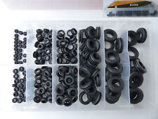 200tlg Gummidurchgangstüllen Sortiment Gummitülle Kabel Durchführung Box