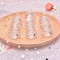 10Pcs/Set 5g Cosmetic Empty Jar Pot Diamond Cream Box Face Cream Container Y4