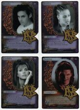 Buffy BTVS CCG TCG Angel's Curse Essence Card Set of 4 - Acetate Redemptions