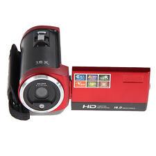 HD 720P 16MP Digital Video Camcorder Camera DV DVR 2.7'' TFT LCD 16x ZOOM Red