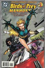 BLACK CANARY ORACLE BIRDS OF PREY MANHUNT #1 (NM) CATWOMAN & HUNTRESS