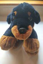 """Rottweiler Plush Puppy Soft Toy 11"""""""
