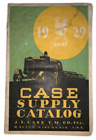 1929, CASE SUPPLY CATALOG, J. I. CASE T. M. Co., Inc., TRACTOR SUPPLY, FARMING