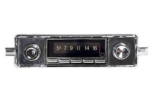 NEW VW Beetle Bug 58-67 AM FM AUX USB Bluetooth Stereo Radio 300 watts iPod