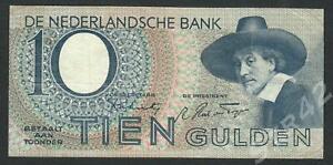 Niederlande, 10 Gulden, P-59, 1944