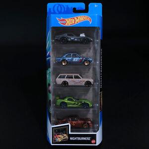 Hot Wheels - Nightburnerz 5 Pack - Brand New