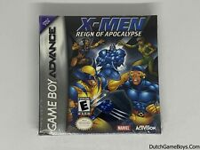 X-men - Reign Of Apocalypse - New And Sealed - USA - Nintendo Gameboy Advance