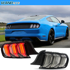 Multi Mode LED Taillights For 6TH Gen Ford Mustang 2015-2020 Rear Lamps Assembly