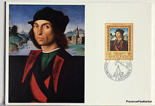 LIECHTENSTEIN   Carte Postale Maximum N° 57 RAPHAEL DUC D ORBINO  LIE03