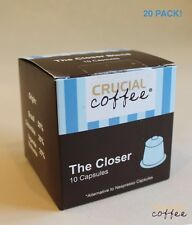 20 The Closer High Performance Coffee Capsules for Most Nespresso Machines