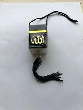 Beautifull  Car Hanging Kaaba Shape  with  ALLAH & MUHAMMED name