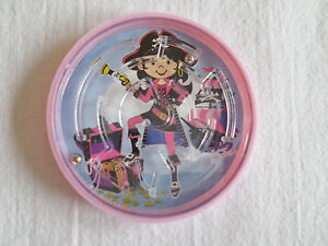Maze Pink Pirate Puzzle Travel Toy Party Bag Pocket Money