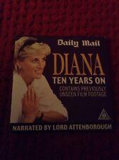 PRINCESS DIANA TEN YEARS ON DVD ROYAL FAMILY