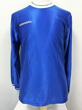 Diadora Youth Soccer Jersey Futbol Blue Sports Custom Sorrento Long Sleeve D5
