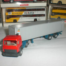 WIKING 24 523 SEMI-TRAILER CAMION IVECO ALIANCA CONTAINER SCALE 1:87 HO NEW OVP