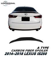 Carbon Fiber Trunk Spoiler Lip For 05-11 Lexus GS300 GS350 GS450h Sedan Type C
