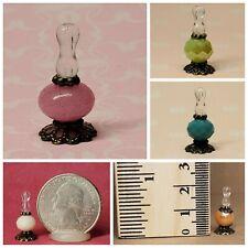 1:24-1:16 Dollhouse Miniature Vintage Kerosene Oil Burner Hurricane Lamp Light