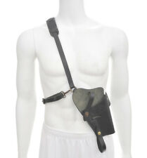 Us M7 Shoulder Holster with Premium Black Drum Dyed Leather