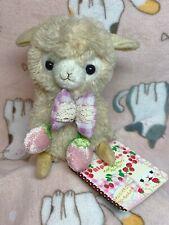 Arpakasso Alpacasso Baby Alpaca Plush Strawberry Japan Amuse Kawaii 6in